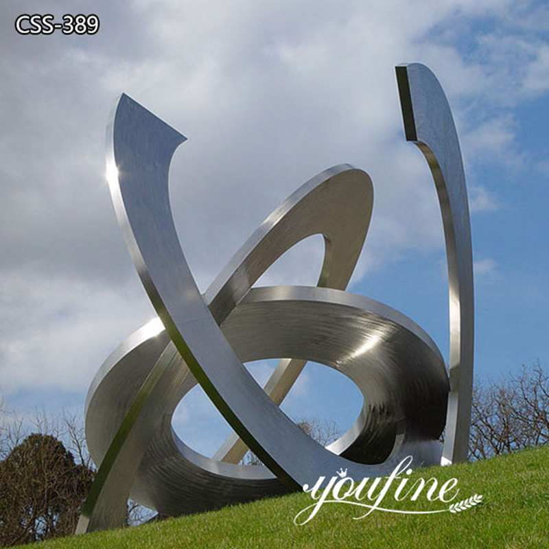 Outdoor Lawn Large Metal Garden Sculpture Decor for Sale CSS-389