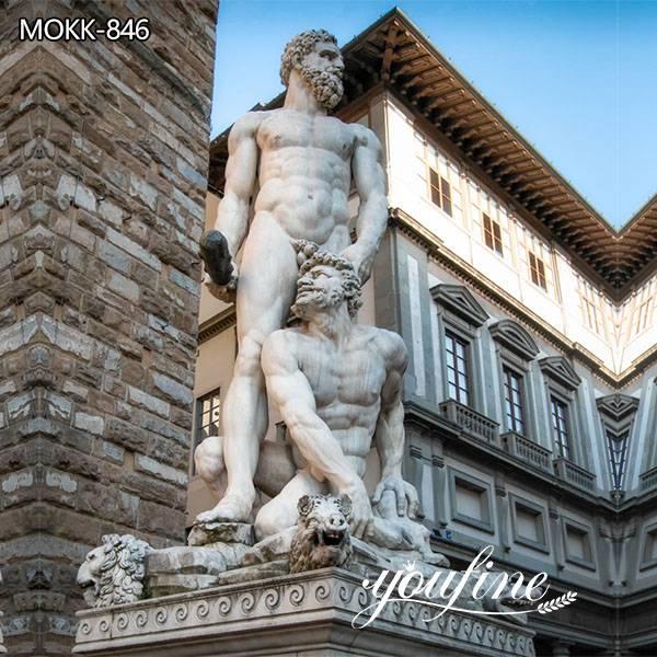 Renaissance Large Marble Hercules and Cacus statue for Sale MOKK-846