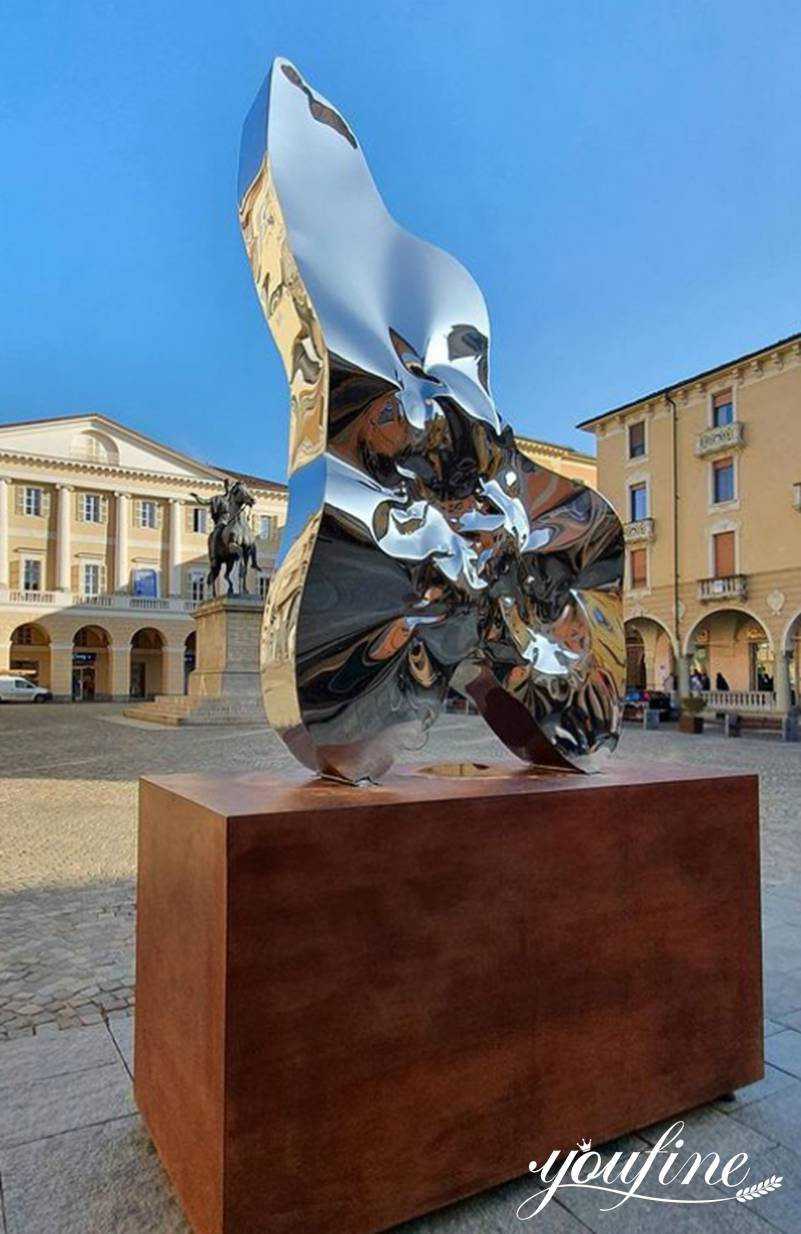 Stainless Steel Outdoor Sculpture for Sale