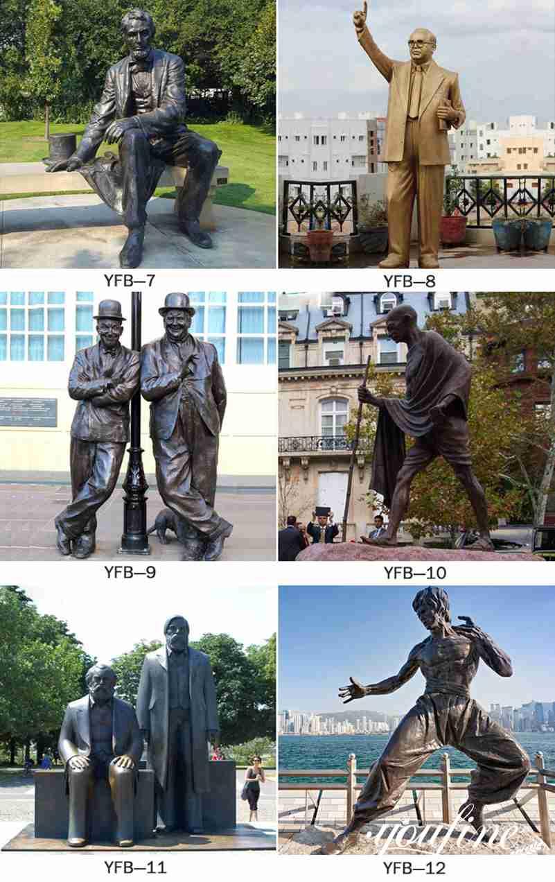 custom made famous figure statue for sale