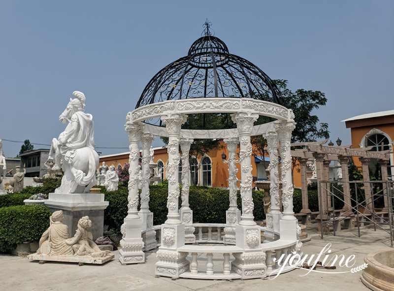 large marble gazebo for sale