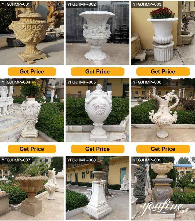 marble garden planter for salemarble garden planter for sale