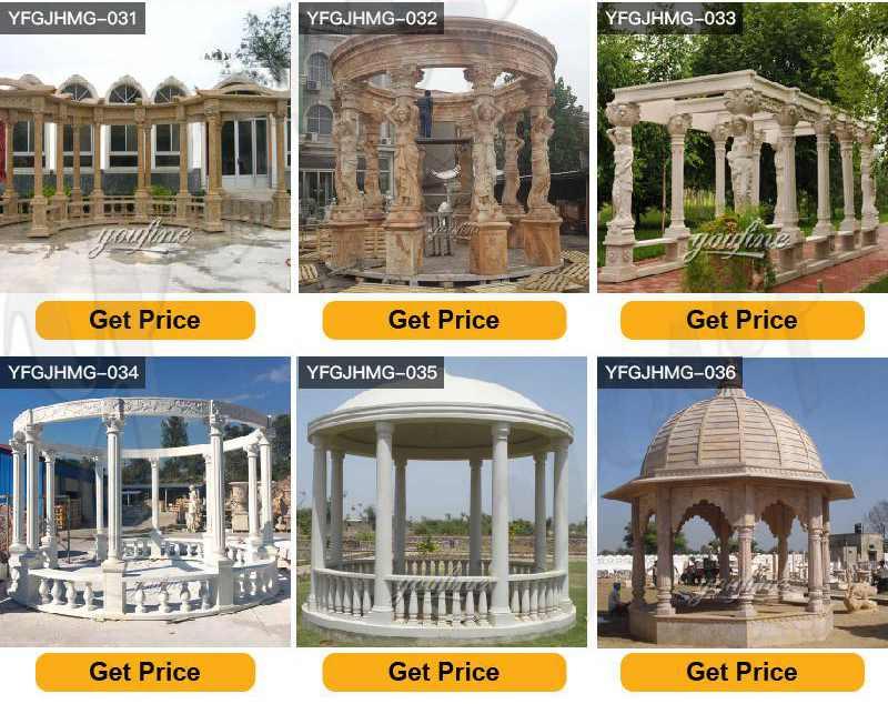 marble gazebo factory