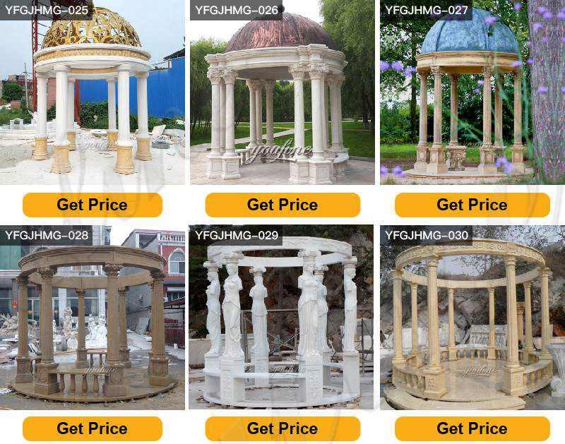 marble gazebos