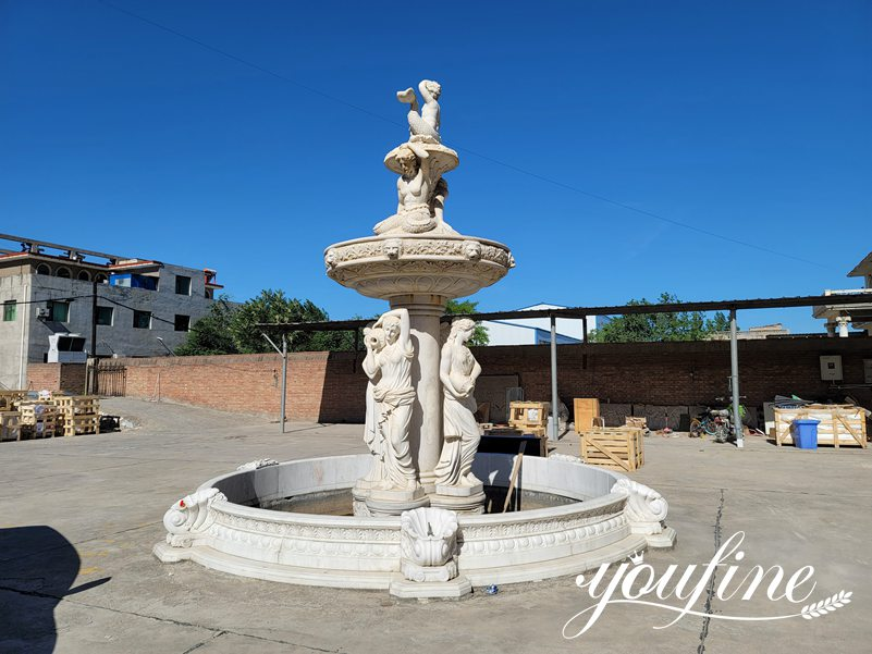 marble water fountains