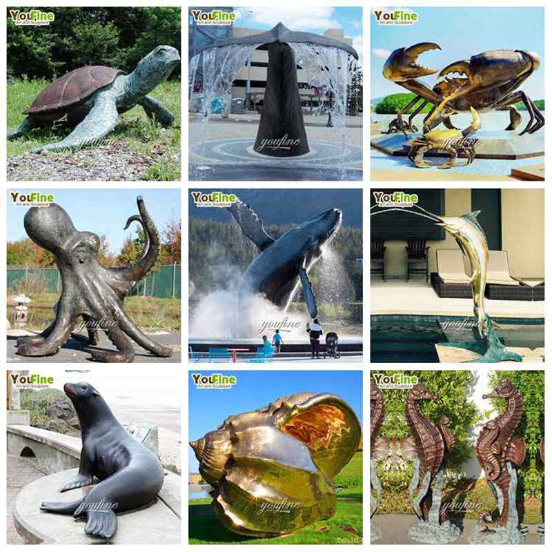 outdoor dolphin statue