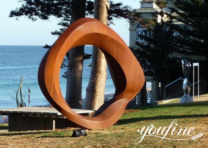 rust garden sculpture for sale