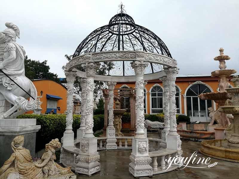 white marble gazebo for sale