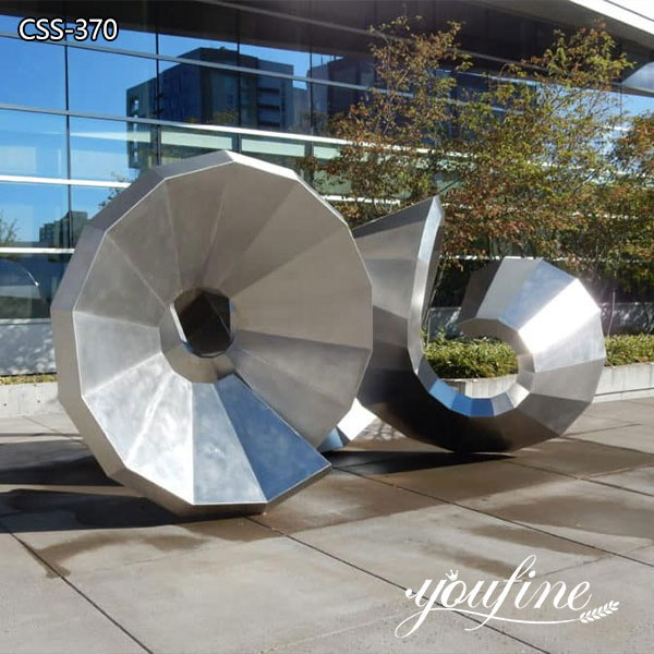 Abstract Large Stainless Steel Garden Sculpture for Sale CSS-370