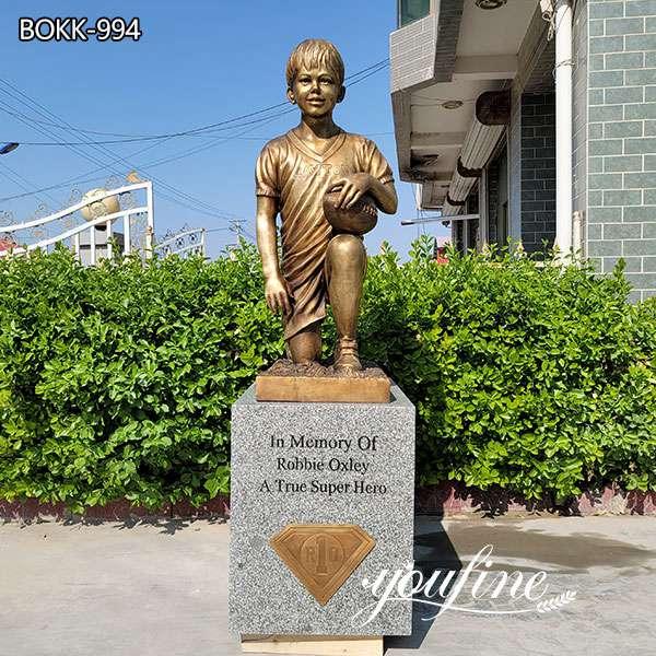 Bronze Boy Custom Statue from Photo