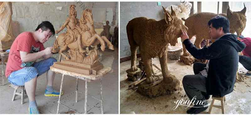 Bronze animal garden statue for sale
