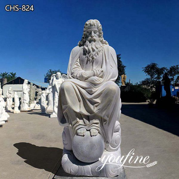 Hand Carved Catholic Jesus Marble Statue Garden for Sale