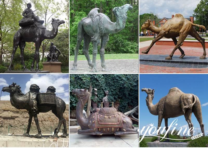 Large Bronze Kangaroo Sculpture Outdoor Garden Decor