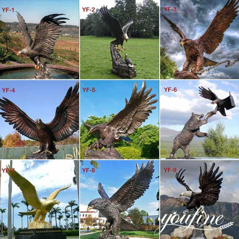 bronze eagle statues wholesale
