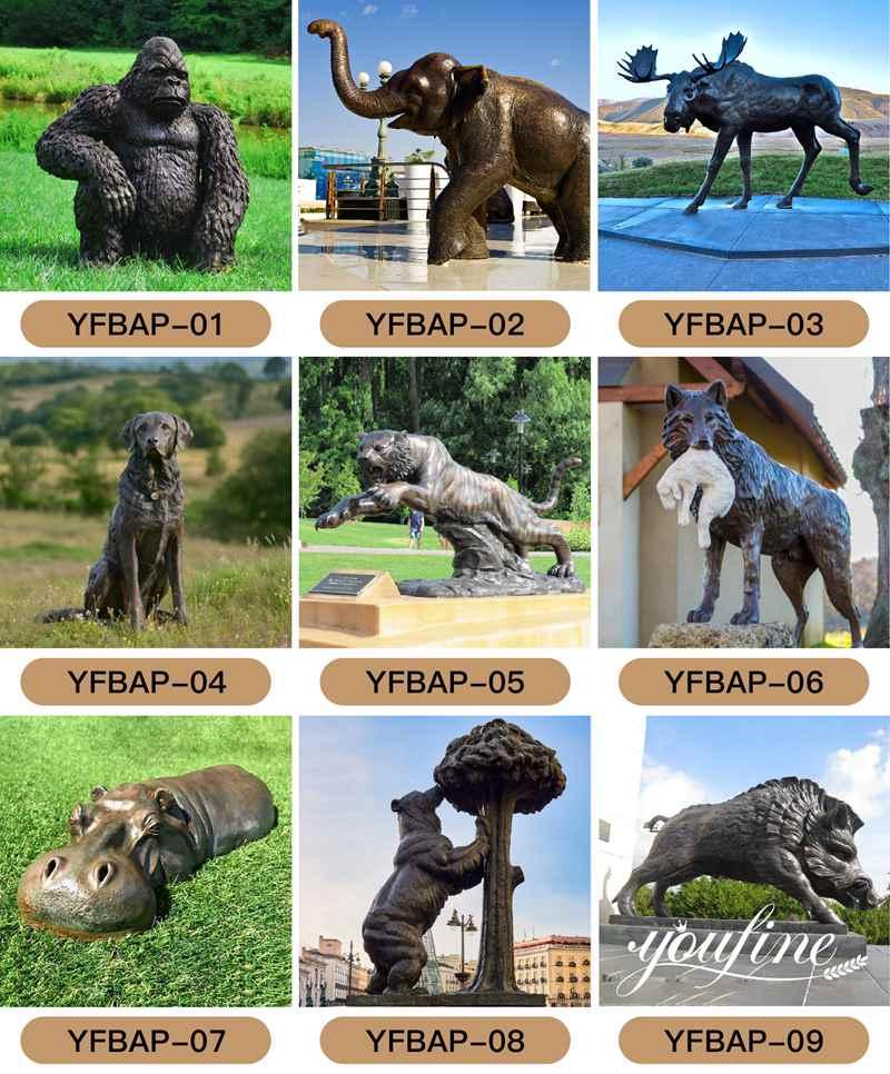 bronze kangaroo sculpture for sale