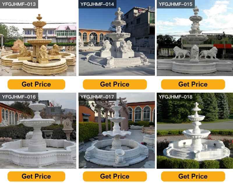 garden statues fountains