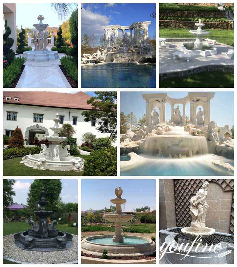 marble fountain feedback from customer