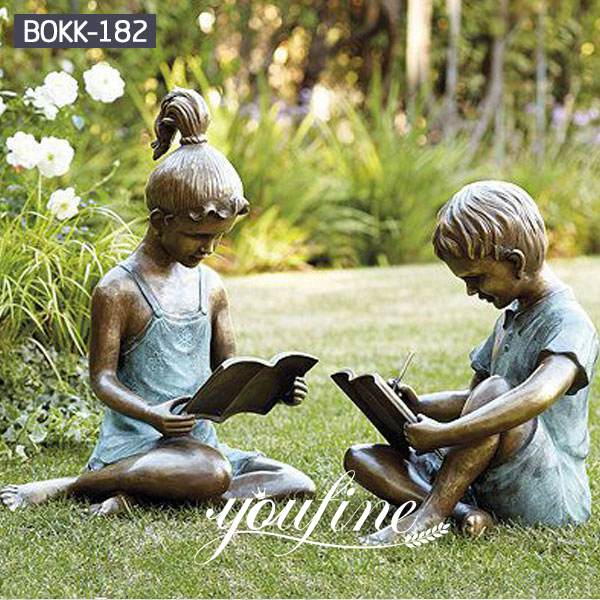 Childhood Friend Custom Bronze figure Statue for Sale BOKK-182 (1)