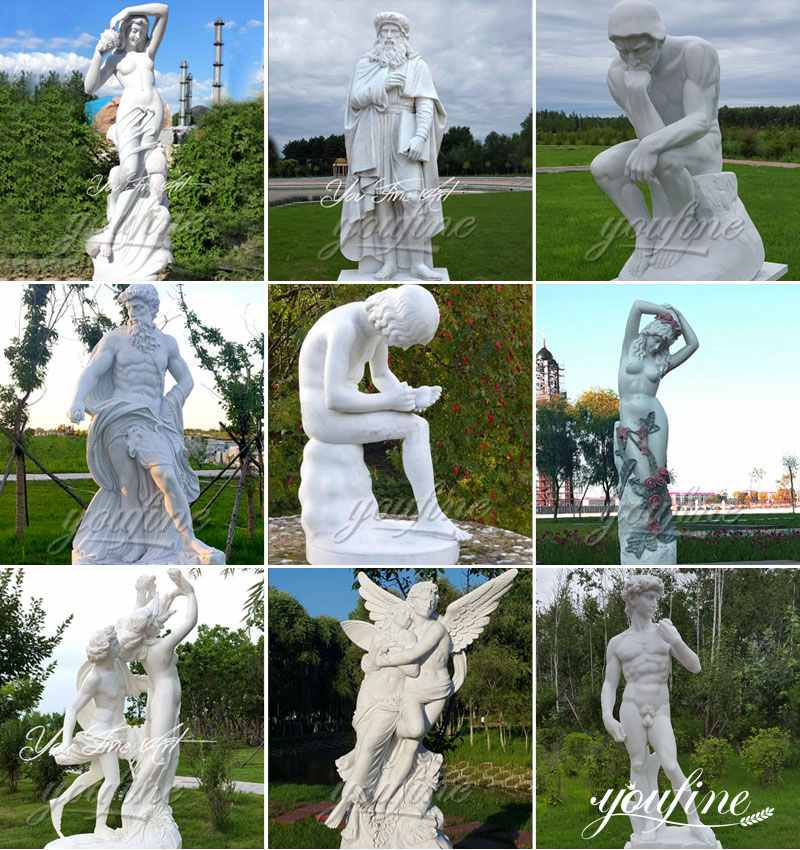 Classical Life Size Marble Statue for Sale