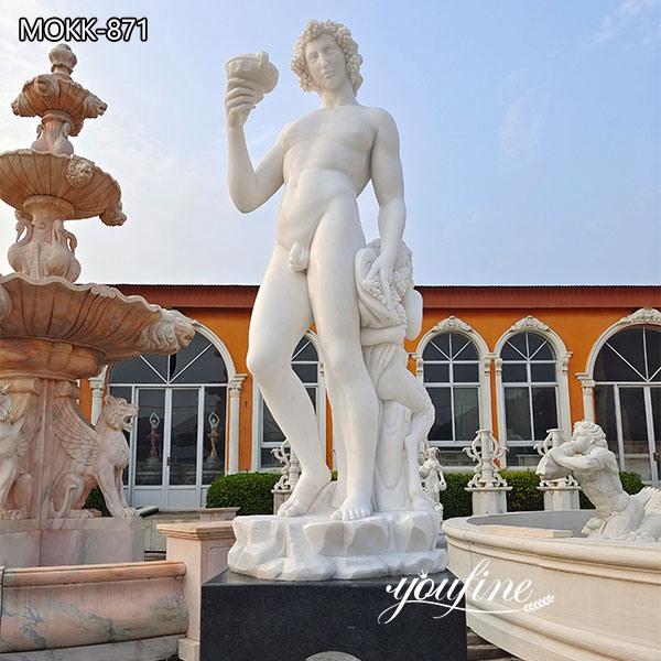 Famous Marble Michelangelo Bacchus Statue for Sale MOKK-871