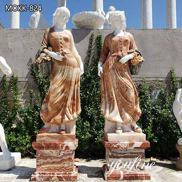 Large Greek Marble Woman Statues Park Ornament Factory Supply