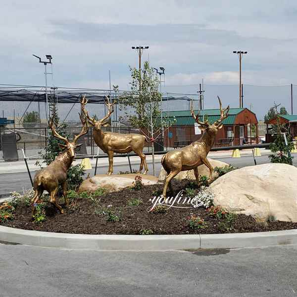 Bronze Deer Statue Feedback
