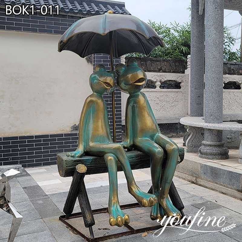 First-class Quality Bronze Frog Sculpture Factory Supplier BOK1-011