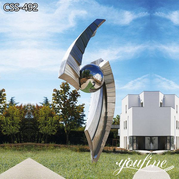 Modern Metal Garden Sculptures for Sale Landscape Decor