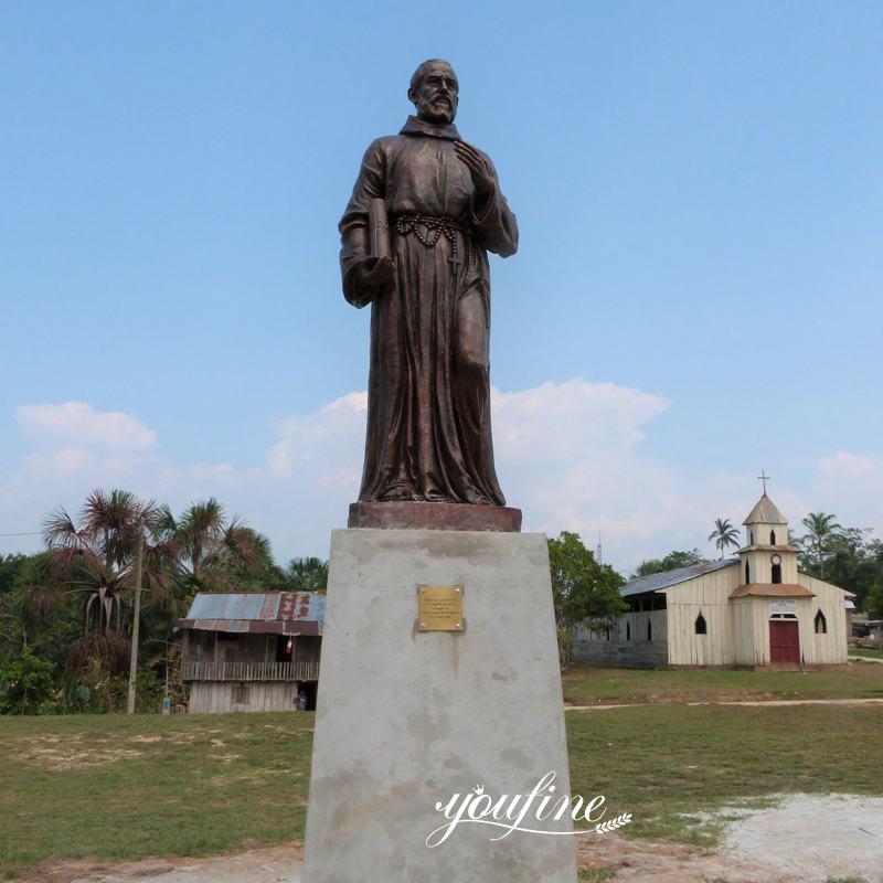 Custom Bronze Samuel Fritz Statue Successfully Installed in Peru