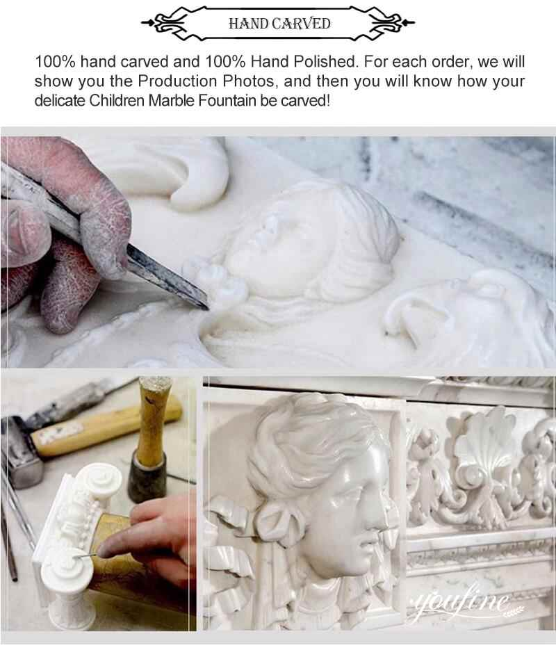 process of Outdoor Lion Statues Gate Decor