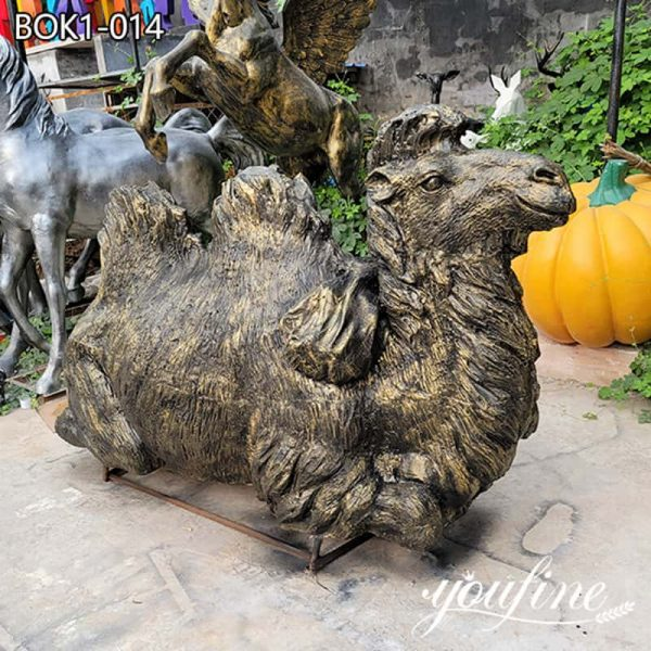 Life Size Bronze Camel Sculpture Home Decor Factory Supply BOK1-014