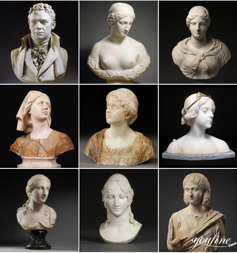 Marble Sculpture Bust (2)