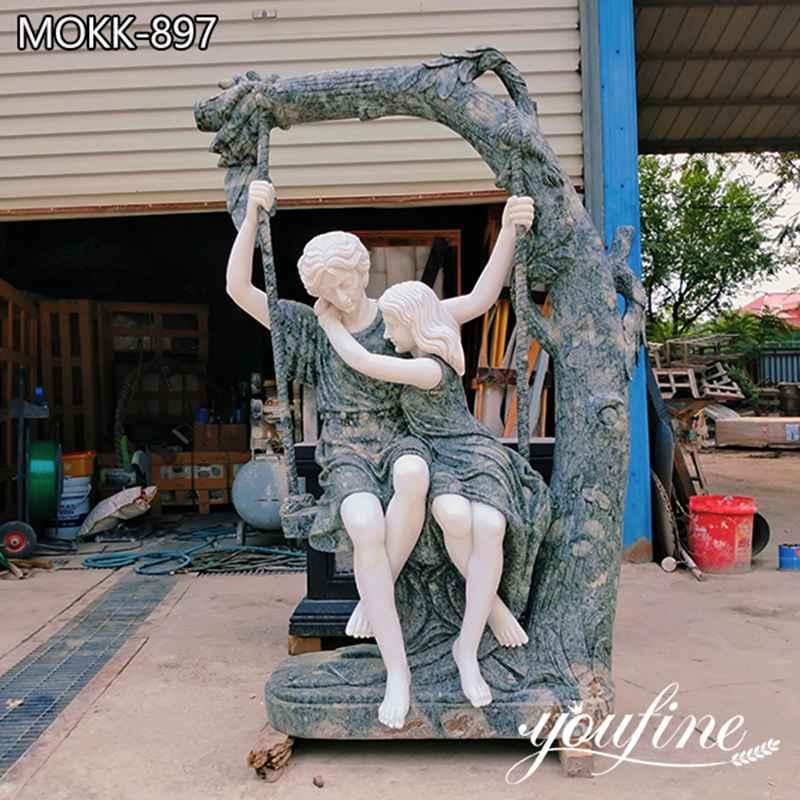 Outdoor Natural Marble Garden Statue Garden Decor for Sale MOKK-897